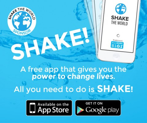 Shake The World- App